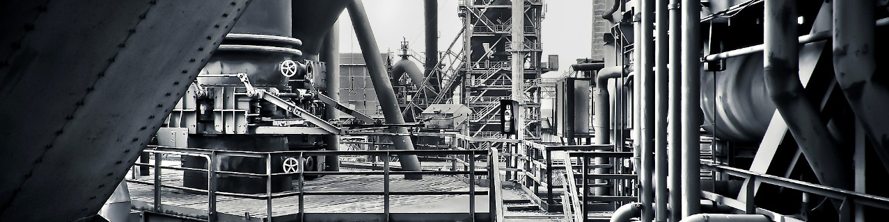 factory black and white